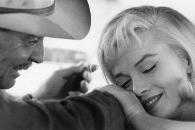 Marilyn Monroe e Clark Gable, Deserto del Nevada, 1960