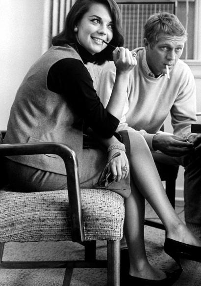 Natalie Wood e Steve McQueen