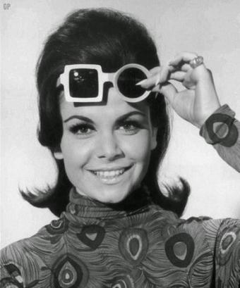 Occhiali da sole anni '60