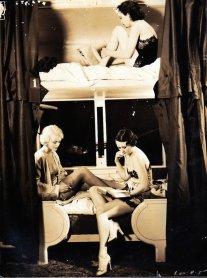 Showgirl su un treno notturno, 1930