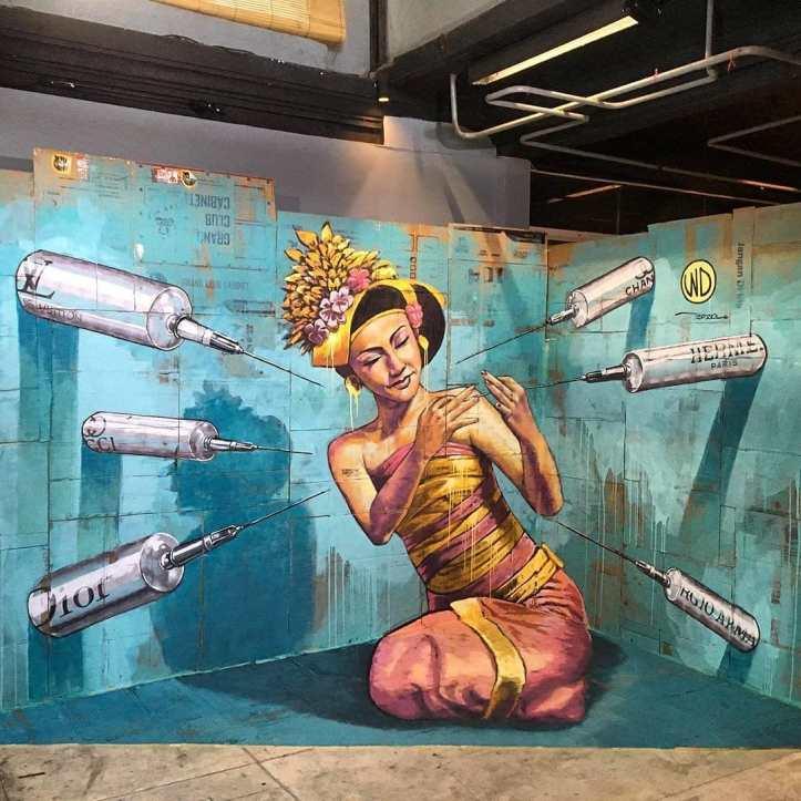 WD Drawing @ Bali, Indonesia