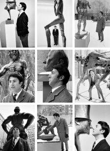 Dustin Hoffman at MoMA, NYC, 1968. Photo by Robert Goldberg