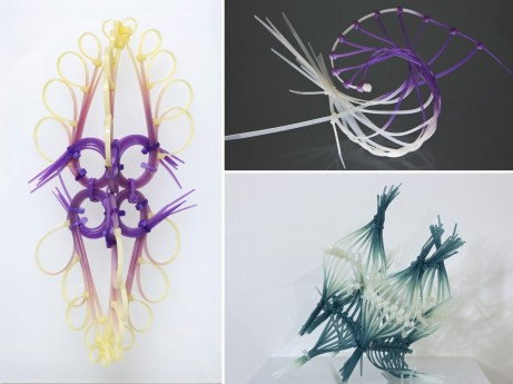 "Elisabeth Picard. Left: ""Navicula"" (2015), 