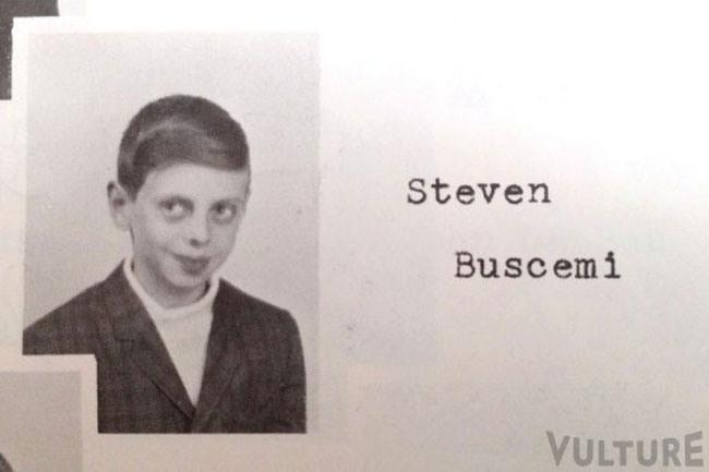 Foto della scuola elementare di Steve Buscemi