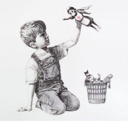 Game changer by Banksy @General Hospital di Southampton, UK