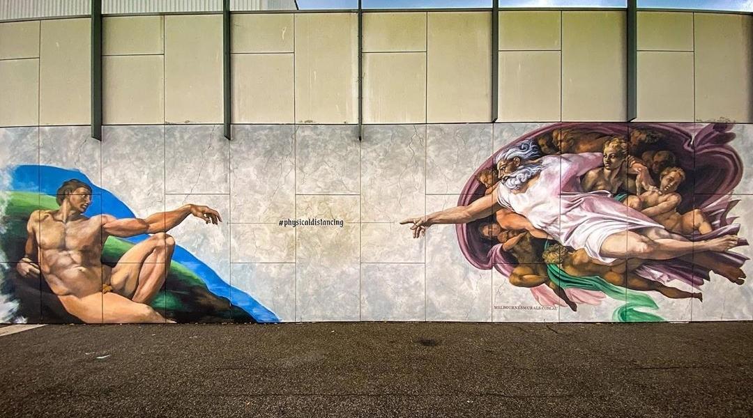 Melbournes Murals @ Melbourne, Australia