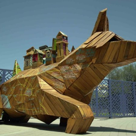 Transportapueblos by Alfredo Libre Gutierrez