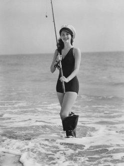 Ava Gardner va a pescare, 1942