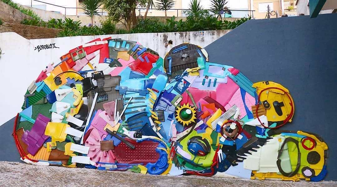 Bordalo II @ Lisbon, Portugal