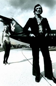 Hugh Hefner negli anni '50