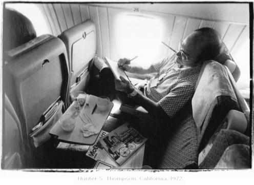 Hunter S Thompson. 1972