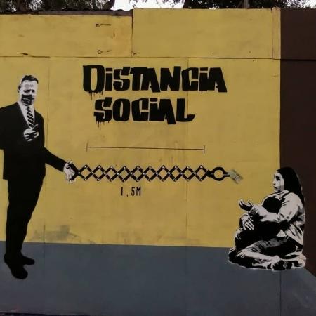 Pikoenelojo Stencil @ Santiago, Chile