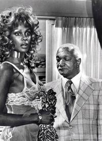 Tamara Dobson e Redd Foxx, anni '70