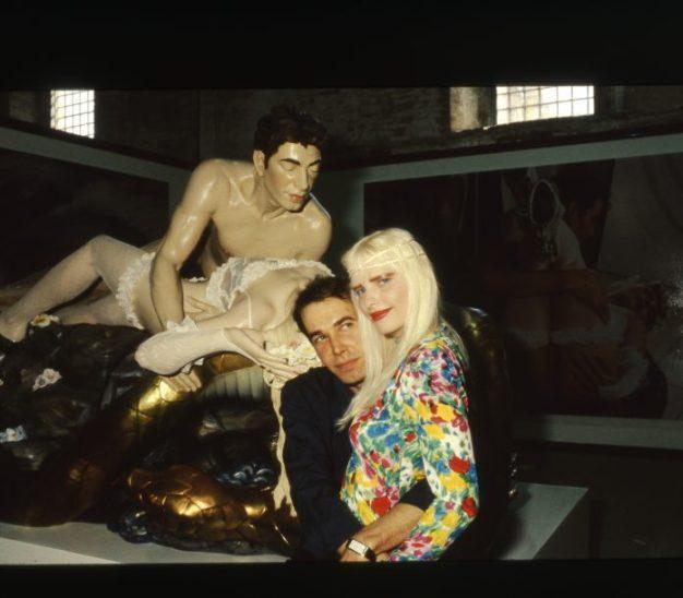 Aperto 90, Jeff and Ilona Made in Heaven 44. Esposizione Internazionale d'Arte, 1990 Fotografia: Giorgio Zucchiatti