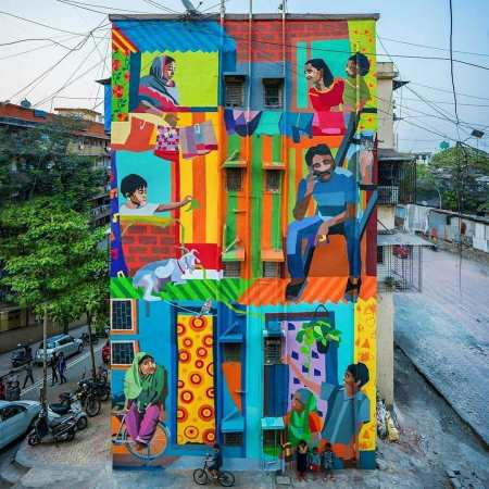 Aravani Art Project @ Mumbai, India