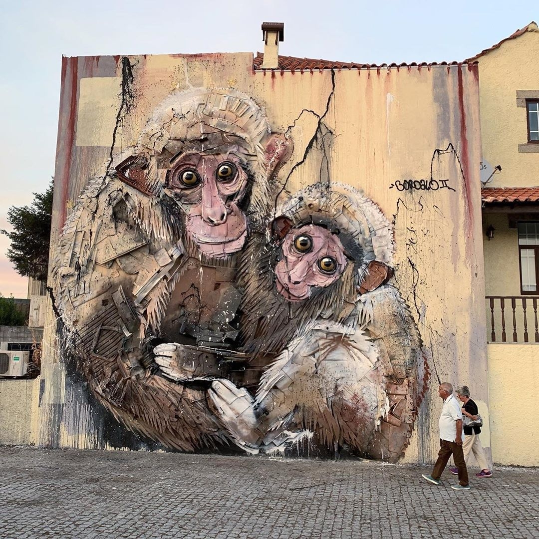 Bordalo II @ Viseu, Portugal