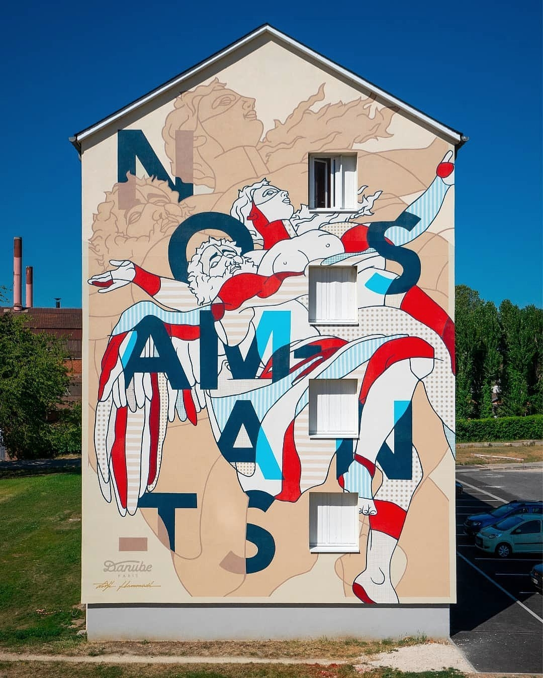 Danube Paris + Lekilibrist @ Les Andelys, France