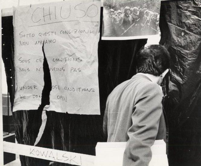 Fototeca. Attualità allestimenti contestazione 1968