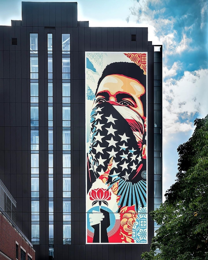 Obey Giant @ Seattle, USA