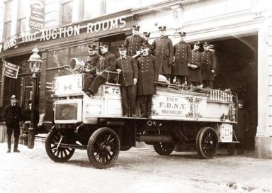 Caserma dei vigili del fuoco di New York, 1912 circa