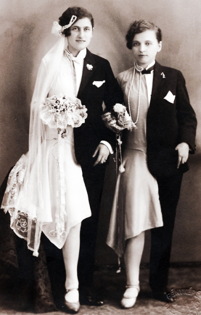 Foto matrimonio, Budapest, anni '20
