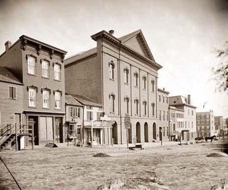 Il Ford Theatre, dove fu assassinato Abraham Lincoln