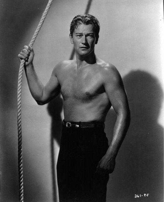 John Wayne in 'Sea Spoilers'