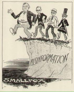La storia si ripete. Fumetto anti-vaccino degli anni '40