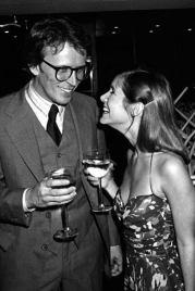 Peter Weller e Carrie Fisher, 1980