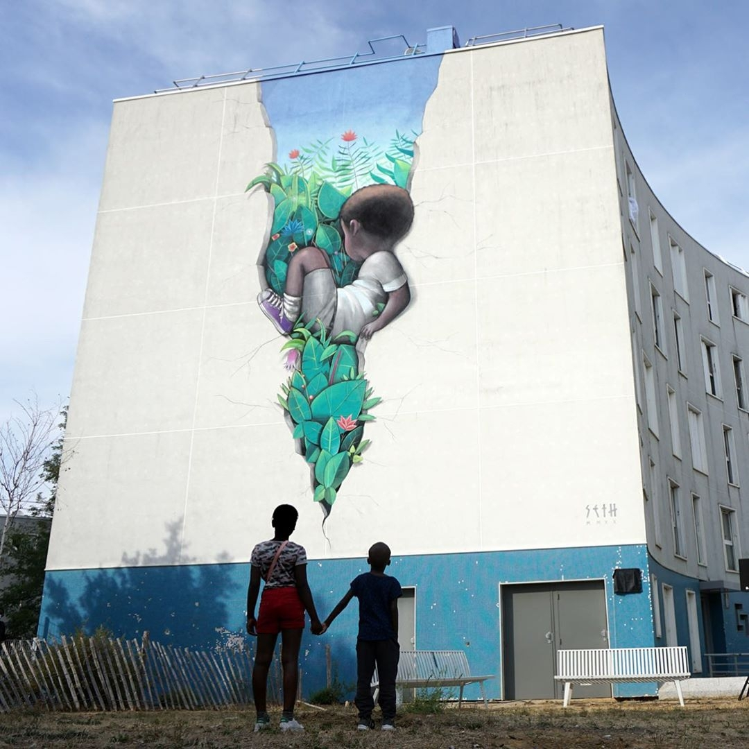 Seth Globepainter @ Grigny, Ile-De-France, France