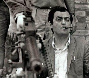 "Stanley Kubrick sul set del ""Dottor Stranamore"", 1963"