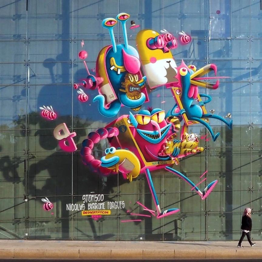 Stom500 + Nicolas Barrome Forgues @ Paris, France