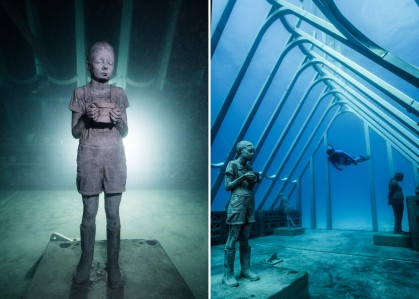 """The Coral Greenhouse"" by Jason deCaires Taylor"