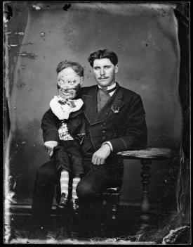 Ventriloquo, circa 1870