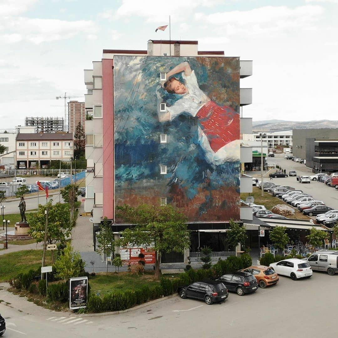 Alba Fabre Sacristán @ Ferizaj, Kosovo