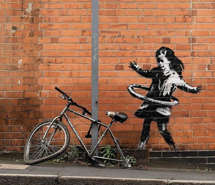 Banksy @ Nottingham, UK