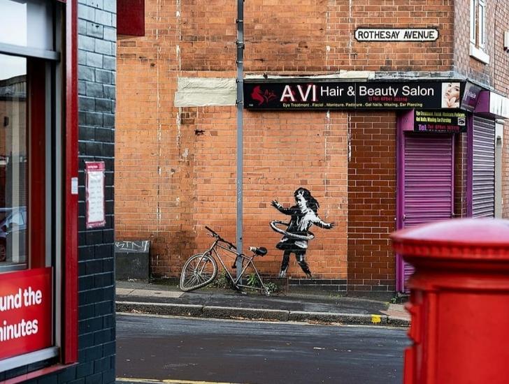 Banksy @ Nottingham, UK