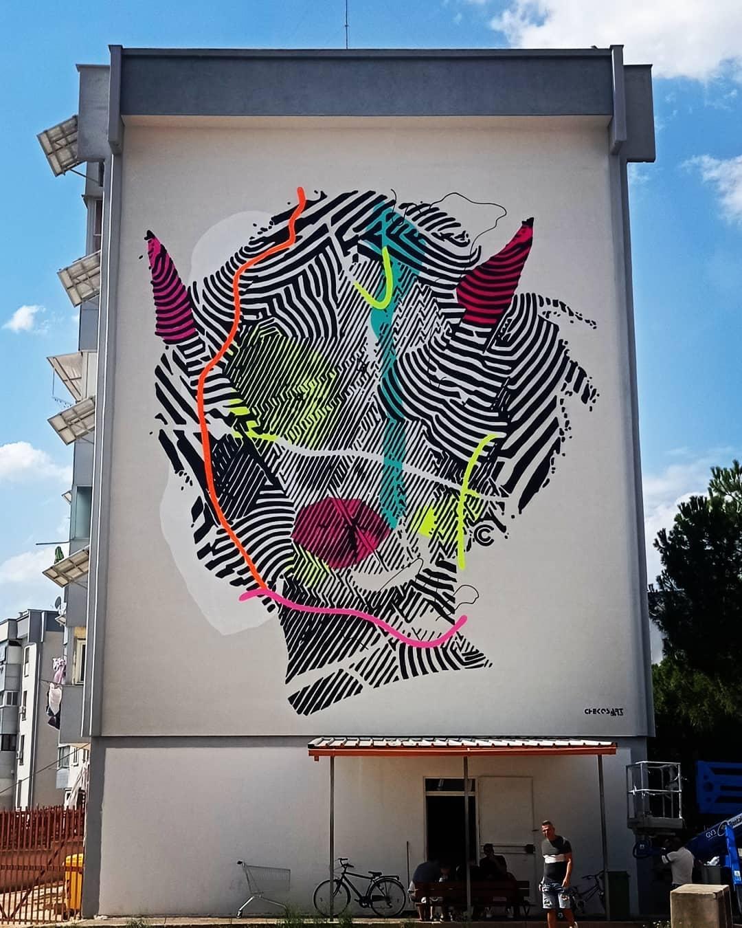 Chekos art @ Taranto, Italy