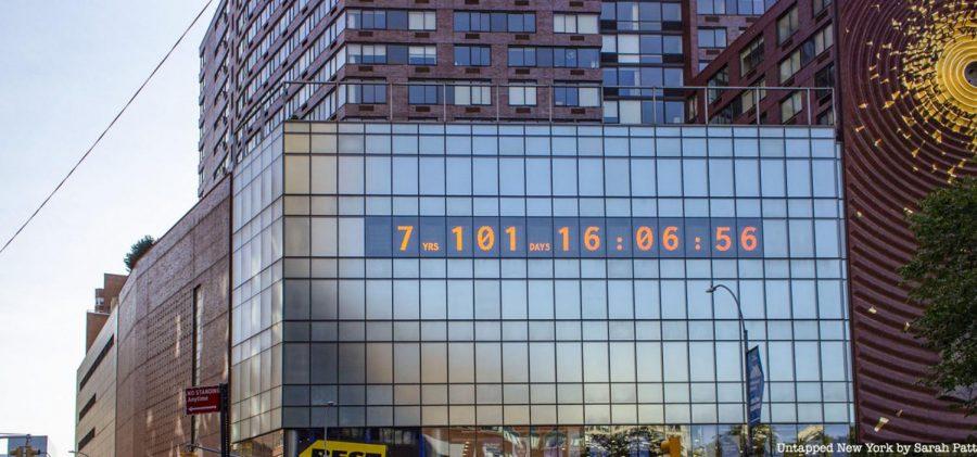 Climate Clock by Gan Golan & Andrew Boyd