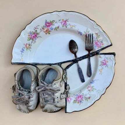 """Babies plate"" by Glen Taylor"
