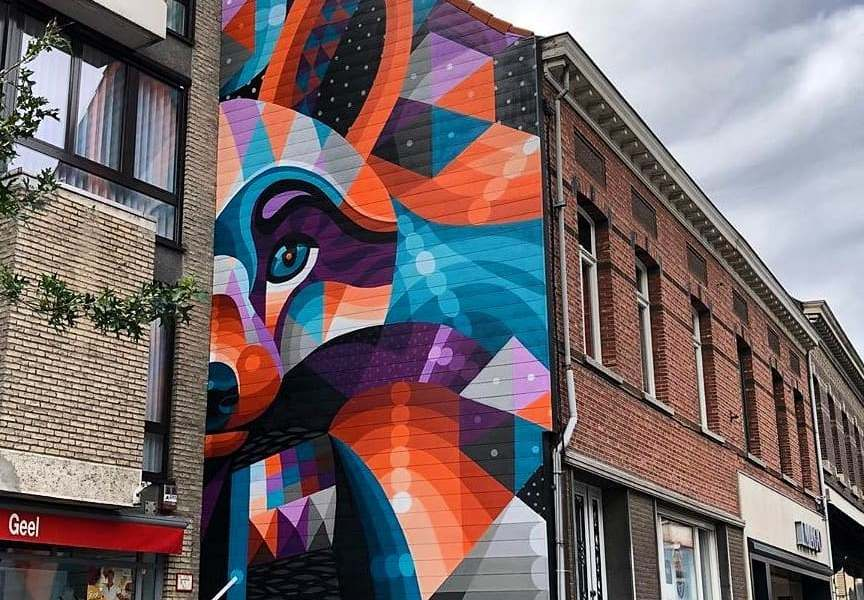 I am Eelco @ Geel, Belgium