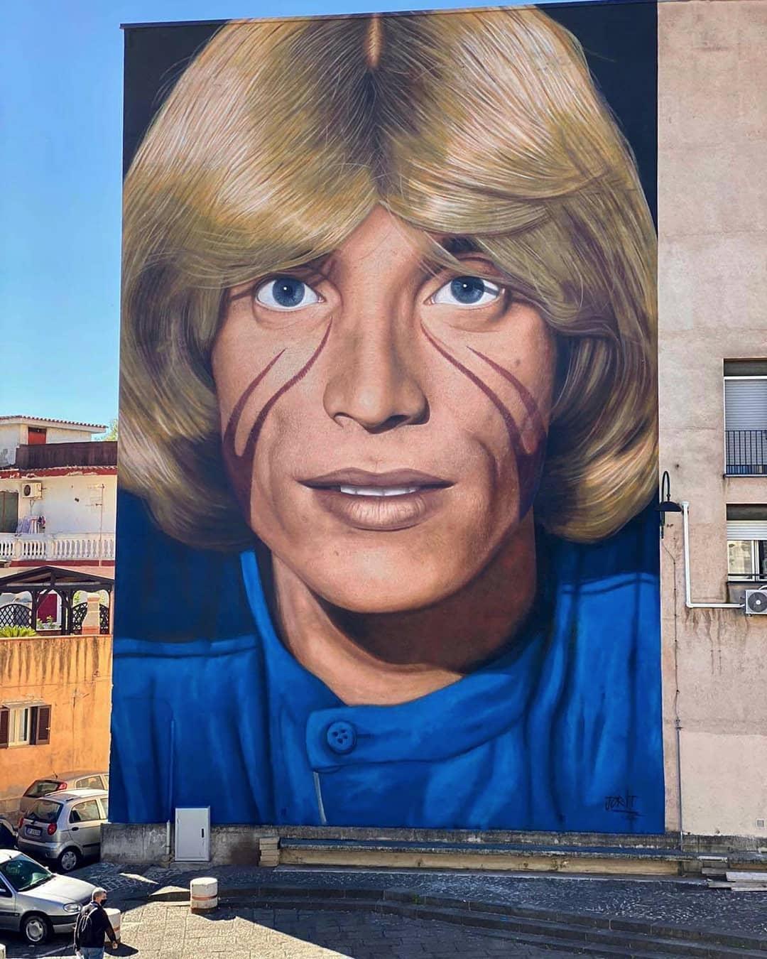 Jorit Agoch @ Naples, Italy