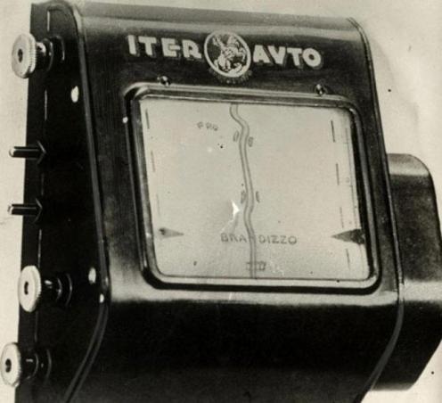 La versione del GPS degli anni '30: questa mappa a scorrimento automatico avrebbe dovuto aiutare le persone con le indicazioni stradali in tempo reale