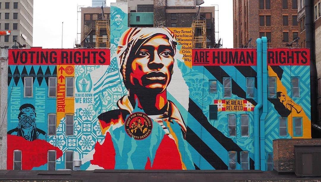 Obey Giant @ Milwaukee, USA