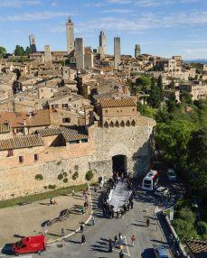 Omelia Contadina by JR @ San Gimignano