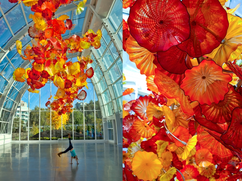 Dale Chihuly, Glasshouse Sculpture, 2012, Chihuly Garden and Glass, Seattle