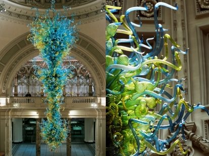 Dale Chihuly, V&A Chandelier, 2001, Victoria and Albert Museum, London