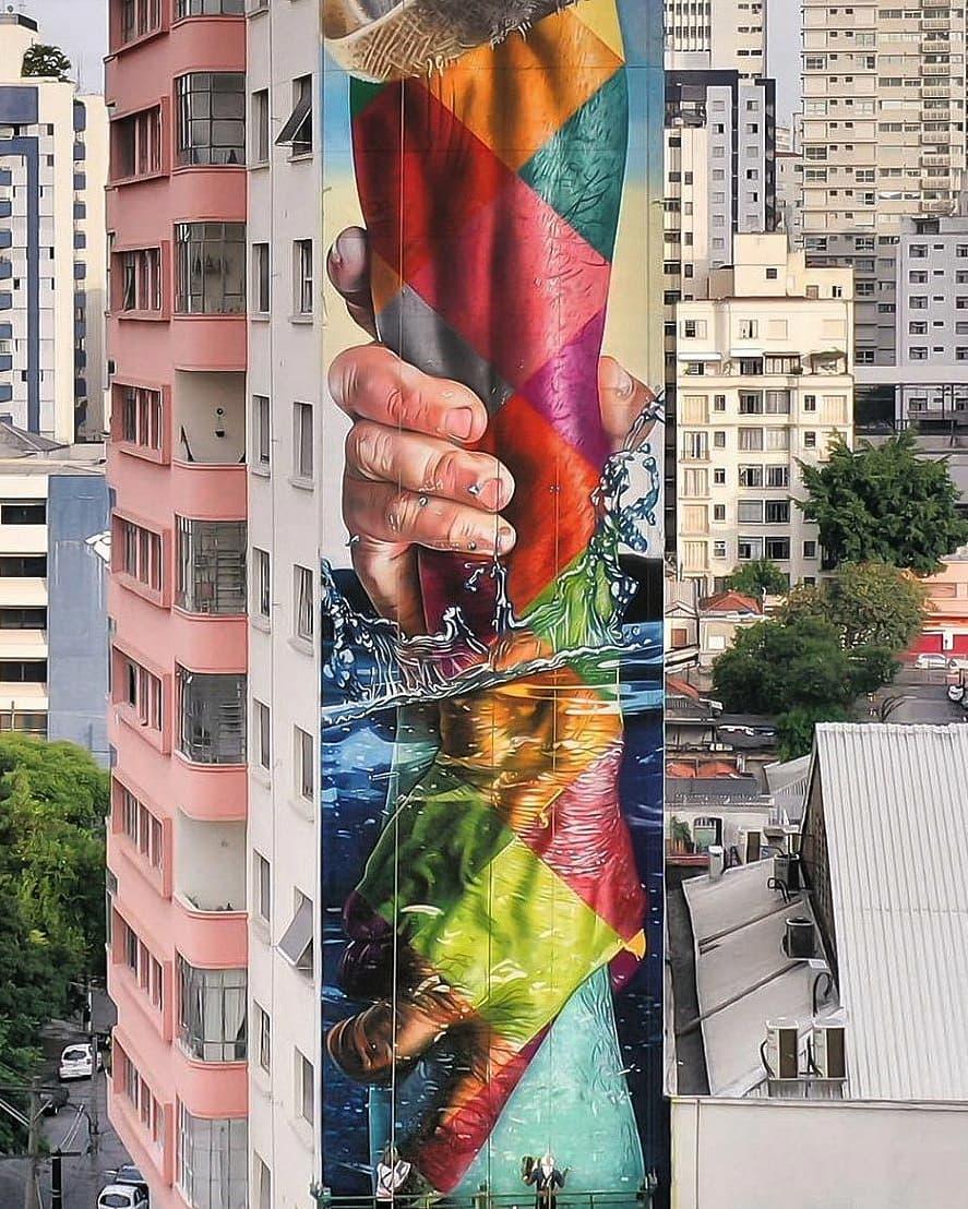 Eduardo Kobra @ Sao Paulo, Brazil