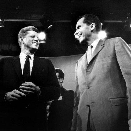 John F. Kennedy e Richard Nixon