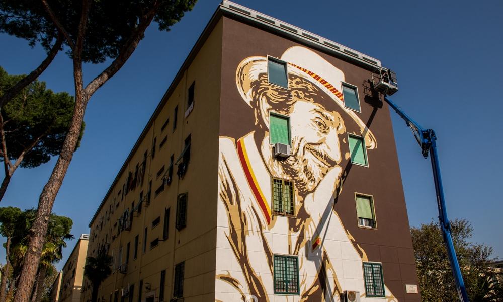 Lucamaleonte @ Rome, Italy. Photo by Roberto Morgi
